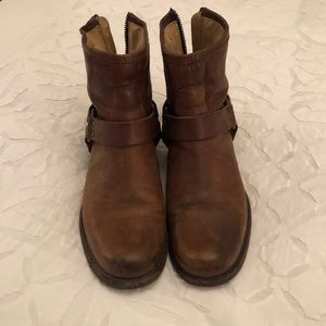 Frye Brown Short Boots